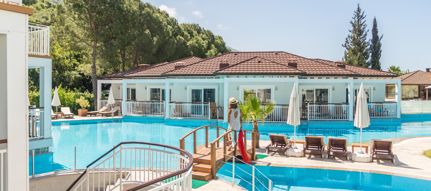 Oludeniz Mozaik Apartments And Swim Up Boutique Hotel Rooms Luxury Self Catering In Olu Deniz Fethiye Turkey