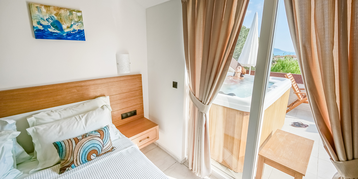 Penthouse Suite Bedroom Oludeniz